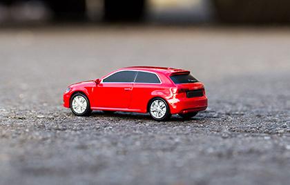 USB-Stick in individueller Fahrzeug-Form fuer Audi