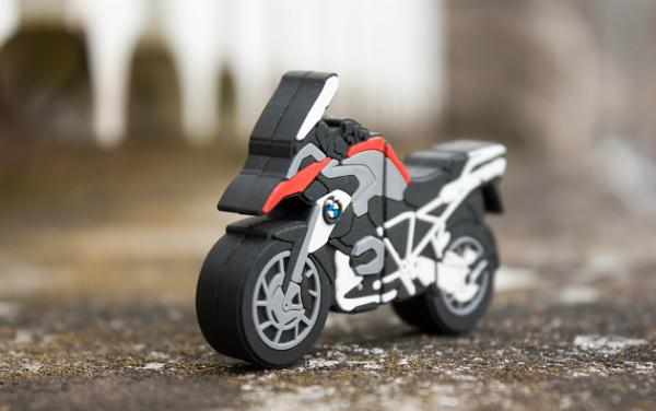 BMW Motorrad USB-Stick Endprodukt